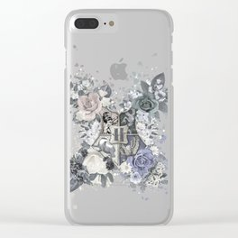 Hogwarts Crest Distressed Clear iPhone Case
