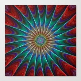 Wheel XCX Canvas Print
