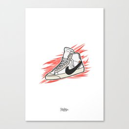 Blazer x Off White Canvas Print