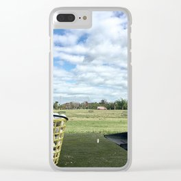 Home on the Range Clear iPhone Case