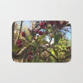 Crabapple Tree in Springtime Bath Mat