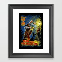 The Man Who Framed Me Framed Art Print