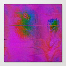 11-23-56 (Moving Circles Glitch) Canvas Print