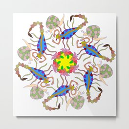 Scorpions & Snails Dance Metal Print