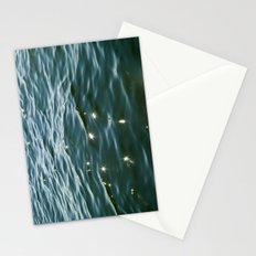 MAINE ocean sunlight Stationery Cards