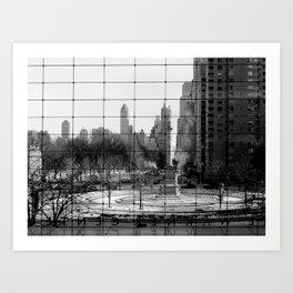 Columbus Circle, NYC Art Print