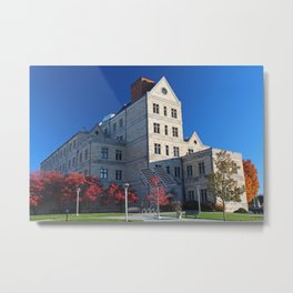 University of Toledo- McMaster Hall II Metal Print