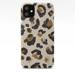Leopard Print – Neutral Gold Light Palette iPhone Case