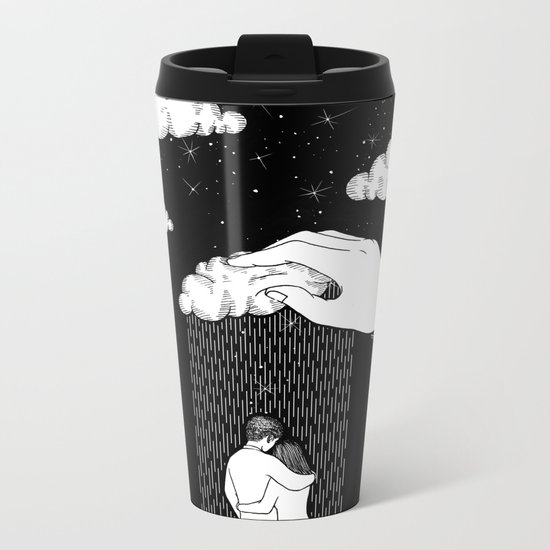 Bless You Metal Travel Mug