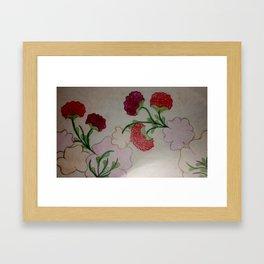 Flower Vine Framed Art Print