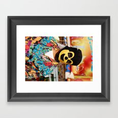 Enmascarado Framed Art Print