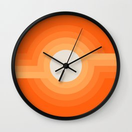 Moonspot - Creamsicle Wall Clock