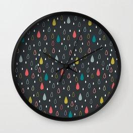 Rainny Wall Clock