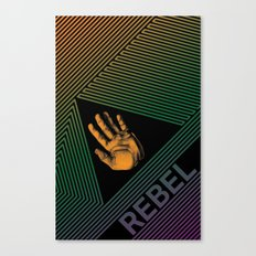 The Rebel Canvas Print