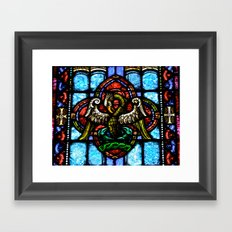 Rising From Glass Framed Art Print