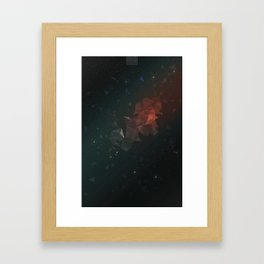 Astral Field Framed Art Print