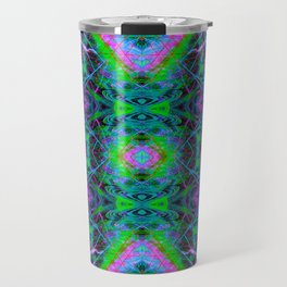 Techno Electric V (Ultraviolet) Travel Mug
