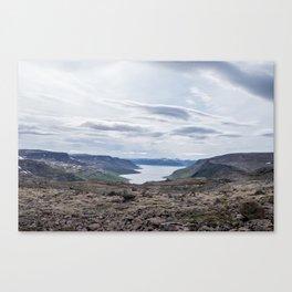 Icelandic Moonscapes - Four Canvas Print