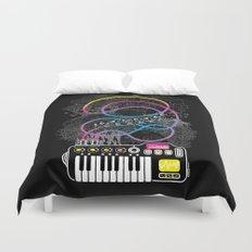 Music Coaster Duvet Cover