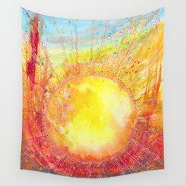 Autumn equinox Wall Tapestry