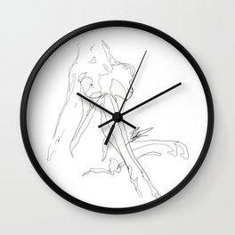 Minimalist Ecstasy II Wall Clock