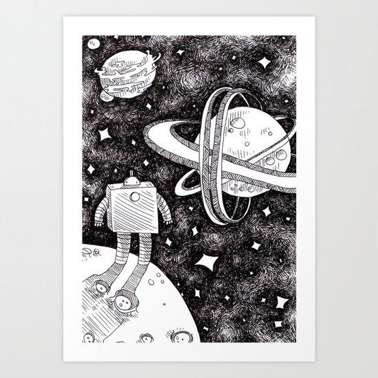 Nedroid Art Print