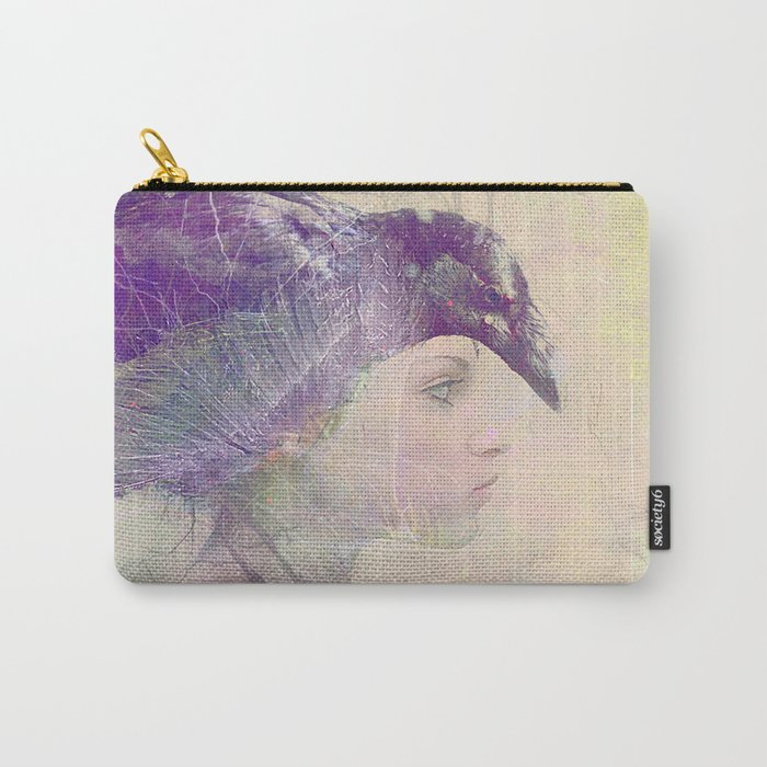 The witch crow Carry-All Pouch