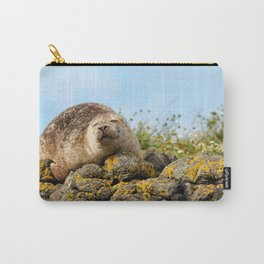 Seal at Dunvegan Castle, Scotland Carry-All Pouch