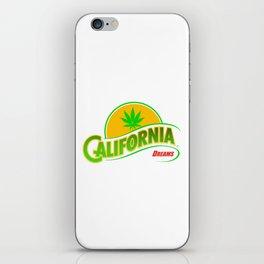 California Hemp Dreams iPhone Skin