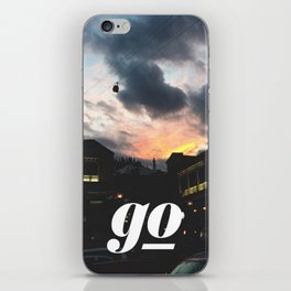 Go // #TravelSeries iPhone Skin
