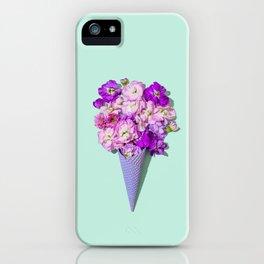 Flower Flurry II iPhone Case