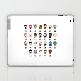 Doctor Who Alphabet Laptop & iPad Skin