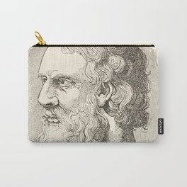 Vintage Plato The Philosopher Illustration Carry-All Pouch