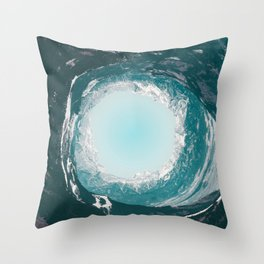 Throat of the World Throw Pillow