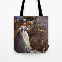 Steampunk Cinderella Tote Bag