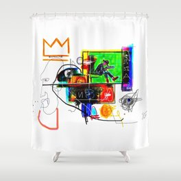 HIGHLIGHTS Shower Curtain