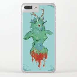 Nature's Woe Clear iPhone Case