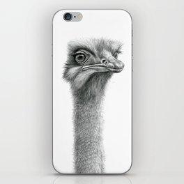 Funny Ostrich SK060 iPhone Skin