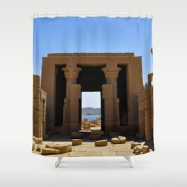 Temple of The Goddess Shower Curtain
