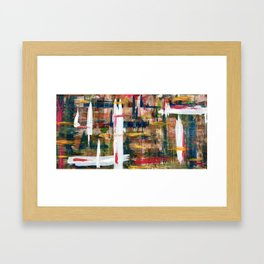 Which Way Is Up? Framed Art Print
