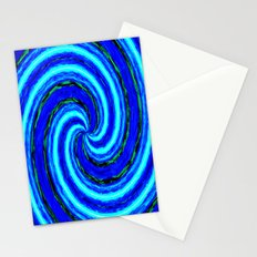Abstract Blue Modern. Stationery Cards