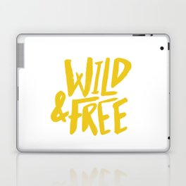 Wild and Free - Sunshine Laptop & iPad Skin