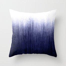 Indigo Ombre Throw Pillow