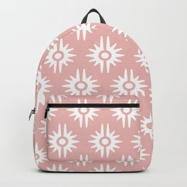 Mid Century Modern Bang Pattern 271 Dust Rose Backpack