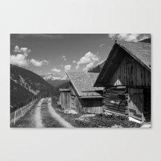 Cabins in Tirol Canvas Print