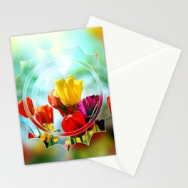 Tulips in the sunshine Stationery Cards