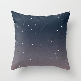 Keep On Shining - Peaceful Dusk Throw Pillow