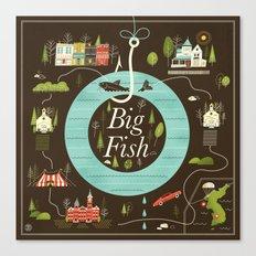 Big Fish Canvas Print