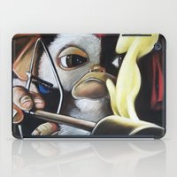 gizmo iPad Cases featuring Gizmo Rambo by John McGlynn