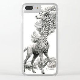 Pinus strobus Clear iPhone Case